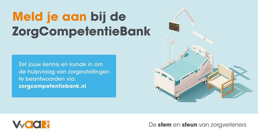 Meld je aan bij de ZorgCompetentieBank