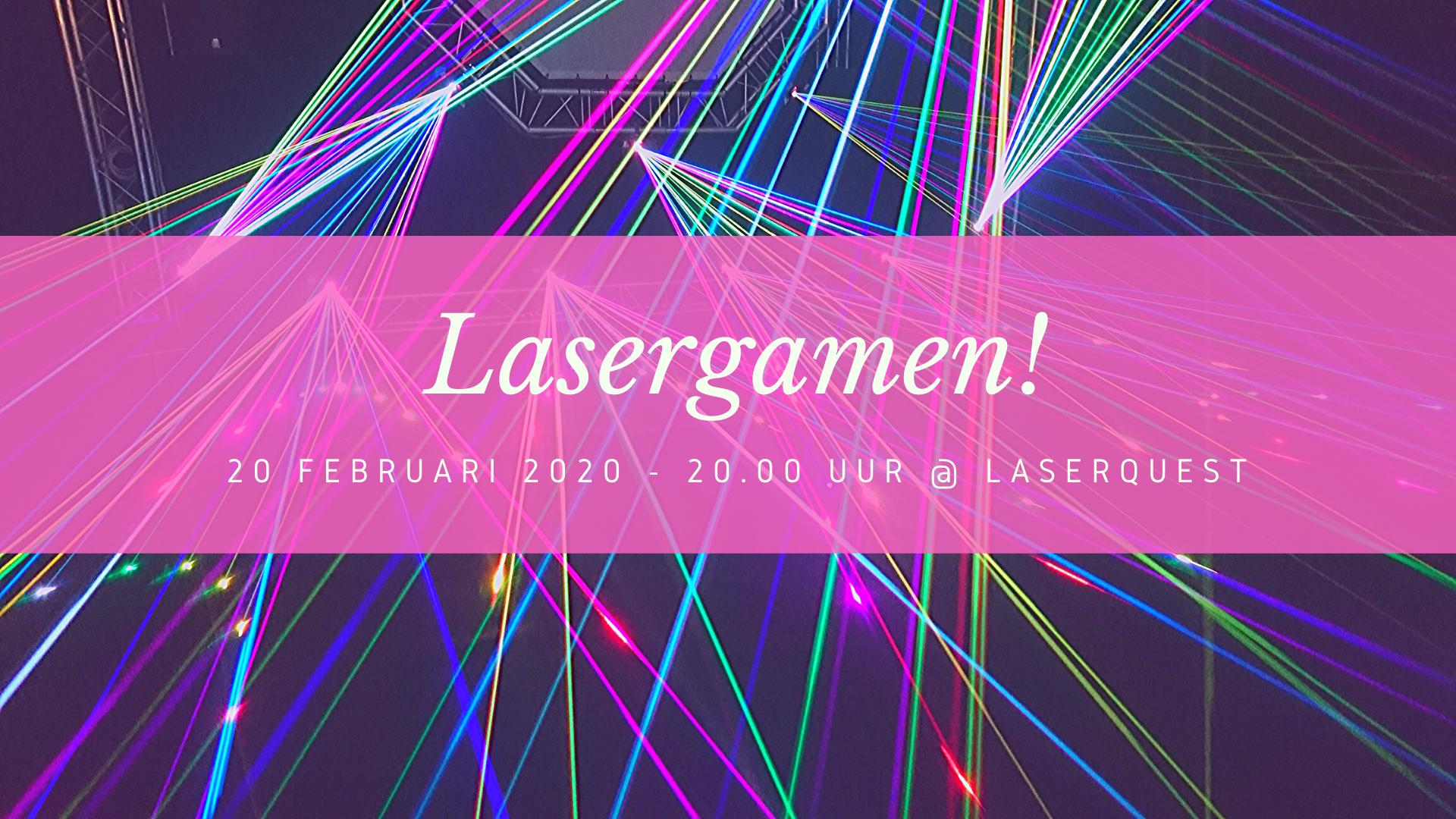 Lasergamen!