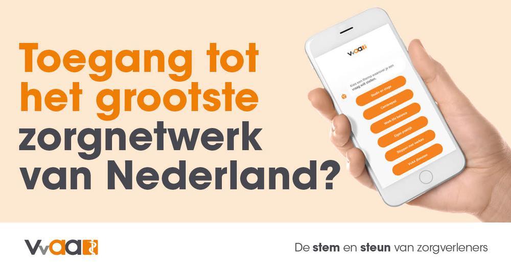 Toegang tot het grootste zorgnetwerk van Nederland?