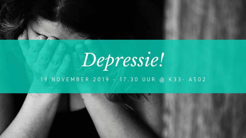 Symposium over Depressie